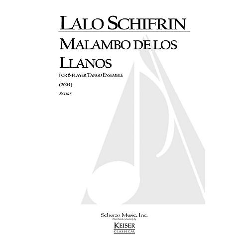 Lauren Keiser Music Publishing Malambo de los Llanos (for 6-Player Tango Ensemble) LKM Music Series by Lalo Schifrin