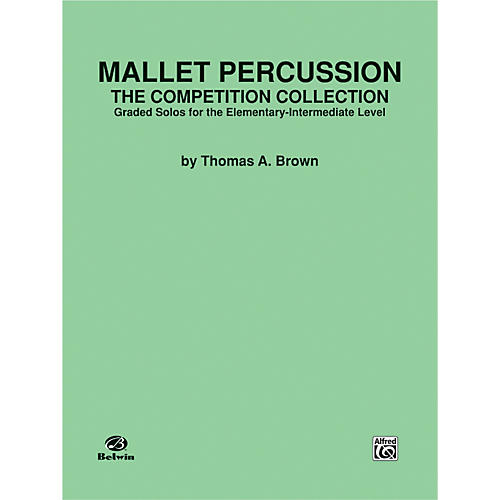 Alfred Mallet Percussion The Competition Collection Book-thumbnail