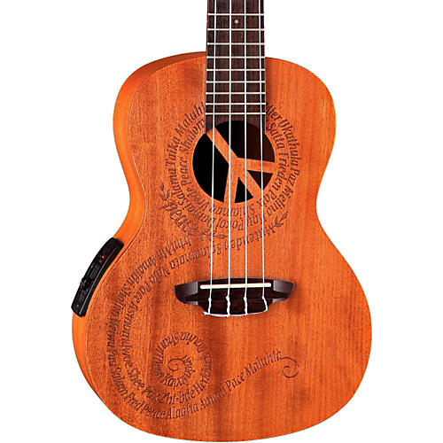 luna guitars maluhia concert acoustic electric ukulele mahogany musician 39 s friend. Black Bedroom Furniture Sets. Home Design Ideas