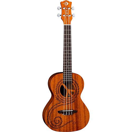 Luna Guitars Maluhia Peace Tenor Ukulele-thumbnail