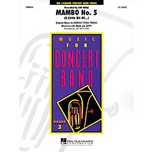 Hal Leonard Mambo No. 5 - Young Concert Band Level 3 by Jay Bocook