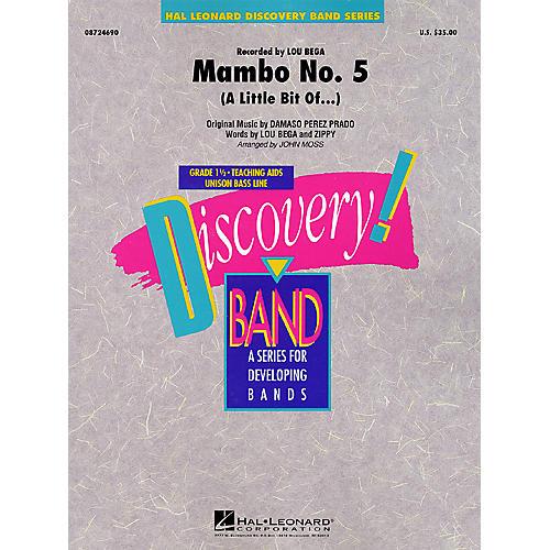 Hal Leonard Mambo No. 5 (A Little Bit Of...) Concert Band Level 1 1/2 Arranged by John Moss-thumbnail