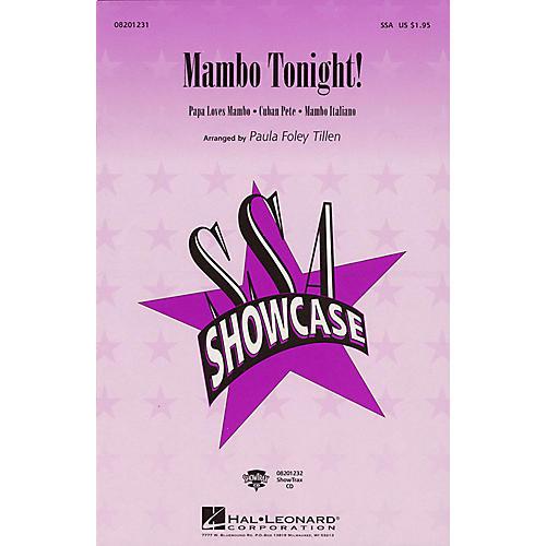 Hal Leonard Mambo Tonight! (Medley) SSA arranged by Paula Foley Tillen-thumbnail
