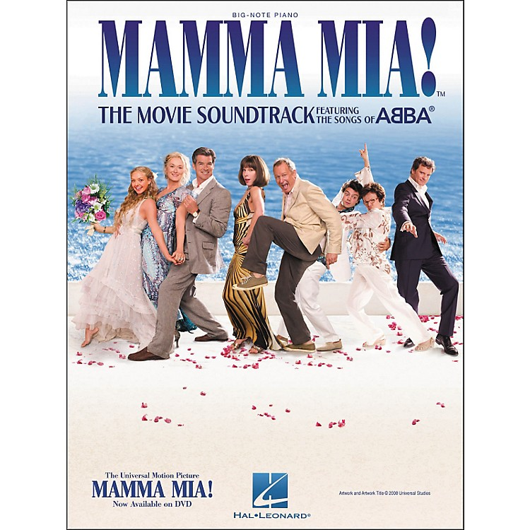 Hal Leonard Mamma Mia - The Movie Soundtrack for Big Note Piano