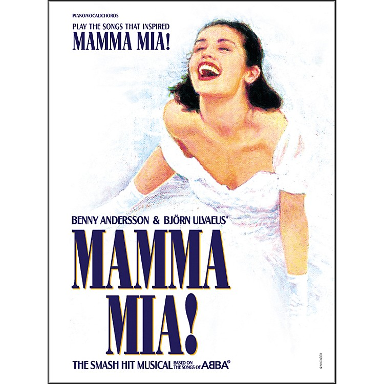 Alfred Mamma Mia!  Piano/Vocal/Chords Book