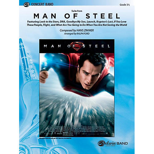 Alfred Man of Steel, Suite from Concert Band Level 3.5 Set-thumbnail