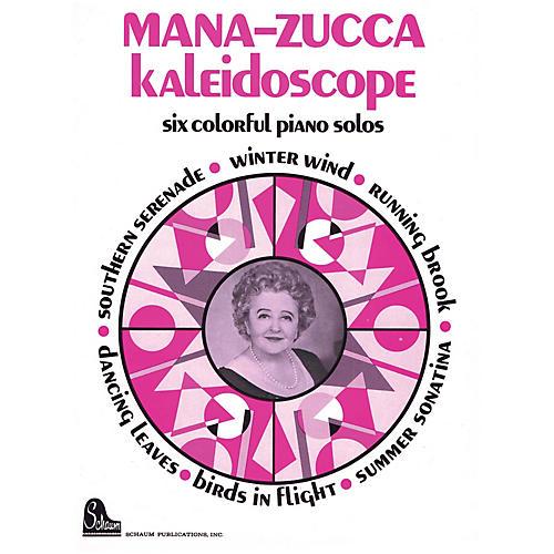 SCHAUM Mana-zucca Kaleidoscope Educational Piano Series Softcover-thumbnail