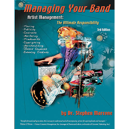 Hal Leonard Managing Your Band, 3rd Edition Book