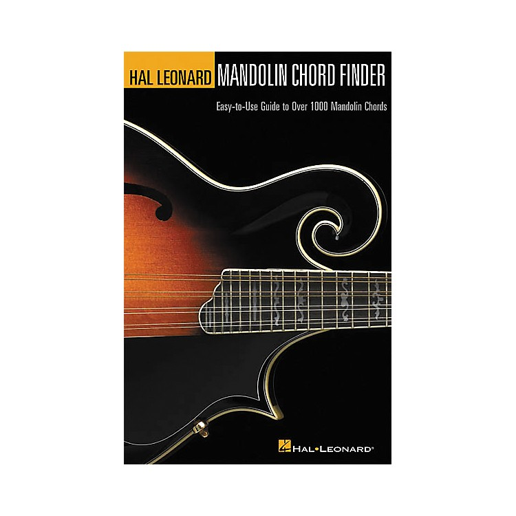 Hal Leonard Mandolin Chord Finder Book