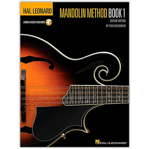 Hal Leonard Mandolin Method Book/CD