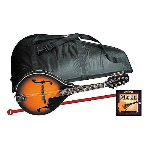 Rogue Mandolin Starter Kit Regular Sunburst