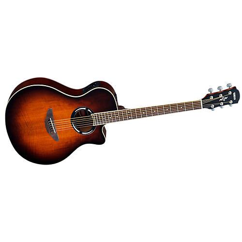 Yamaha Mango Top Acoustic-Electric Guitar