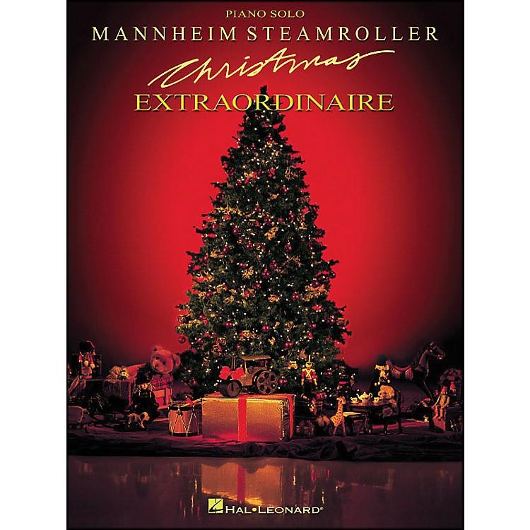 Hal LeonardMannheim Steamroller - Christmas Extraordinaire for Piano Solo