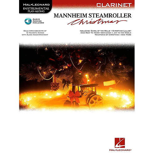 Hal Leonard Mannheim Steamroller Christmas For Clarinet - Instrumental Play-Along (Bk/Audio)