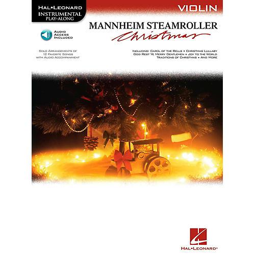 Hal Leonard Mannheim Steamroller Christmas For Violin - Instrumental Play-Along (Bk/Audio)-thumbnail