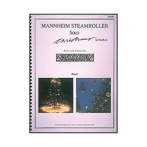 Hal Leonard Mannheim Steamroller Solo Christmas Solos for Flute And Piano-thumbnail
