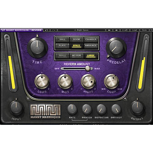 Waves Manny Marroquin Reverb Native/SG Software Download-thumbnail