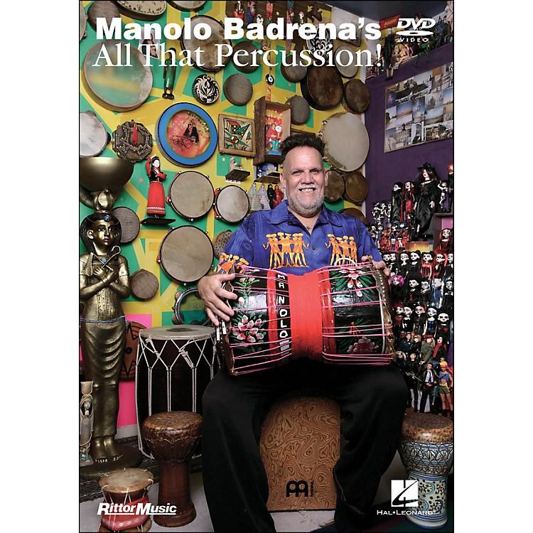 Hal LeonardManolo Gardena's All That Percussion! (DVD)