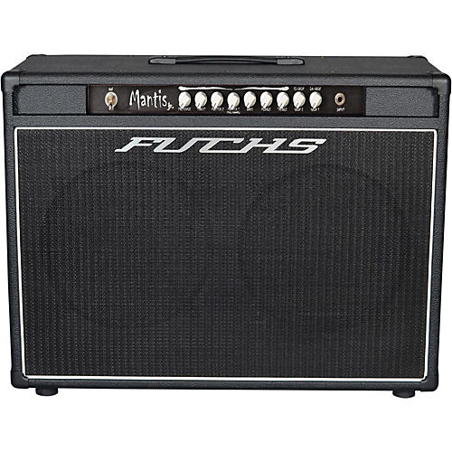 Fuchs Mantis Jr. 2x12 100W Tube Guitar Combo Amp and 4-Button Artist Footswitch Kit