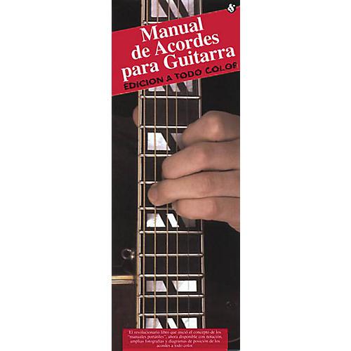 Music Sales Manual De Acordes Para Guitarra (Edicion A Todo Color) Music Sales America Series Softcover by Various