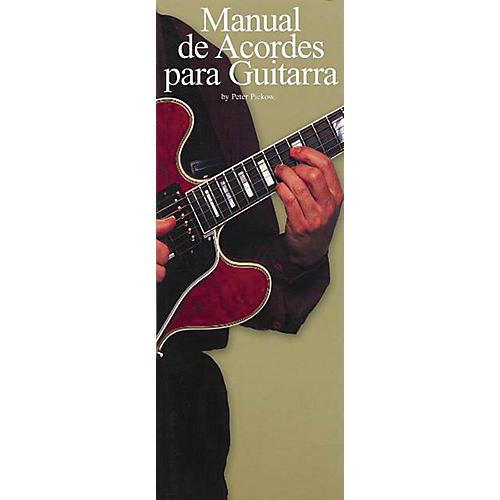 Music Sales Manual De Acordes Para Guitarra Music Sales America Series Written by Peter Pickow-thumbnail