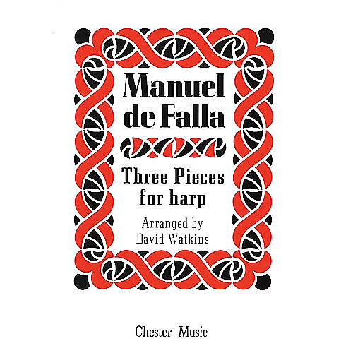 Music Sales Manuel De Falla: Three Pieces For Harp Music Sales America Series-thumbnail