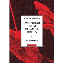 Music Sales Manuel De Falla: Two Pieces From El Amor Brujo Music Sales America Series