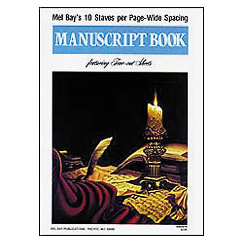 Mel Bay Manuscript Book