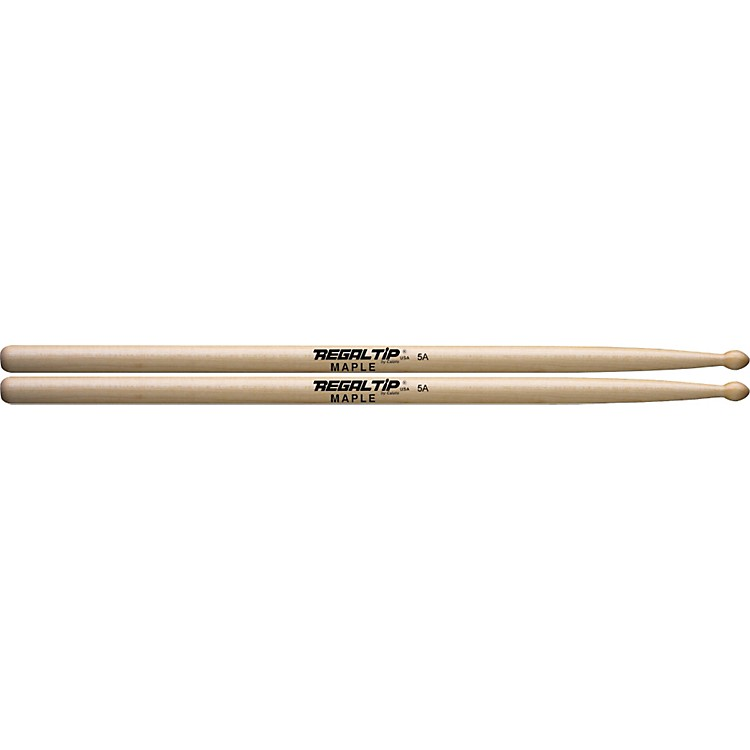 Regal Tip Maple Drumsticks 5A