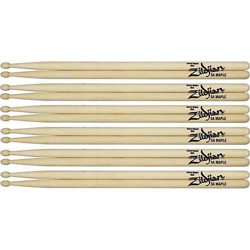 Zildjian Maple Drumsticks 6-Pack-thumbnail