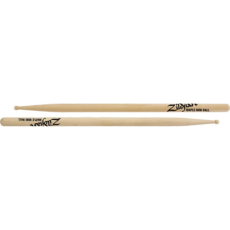Zildjian Maple Mini Ball Wood Tip Drumsticks