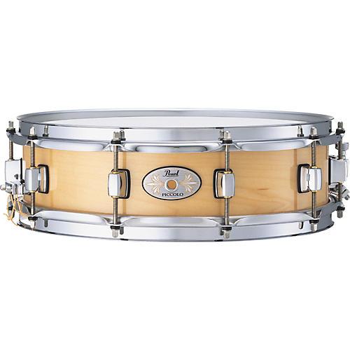 Pearl Maple Piccolo Snare Drum Natural 4x14
