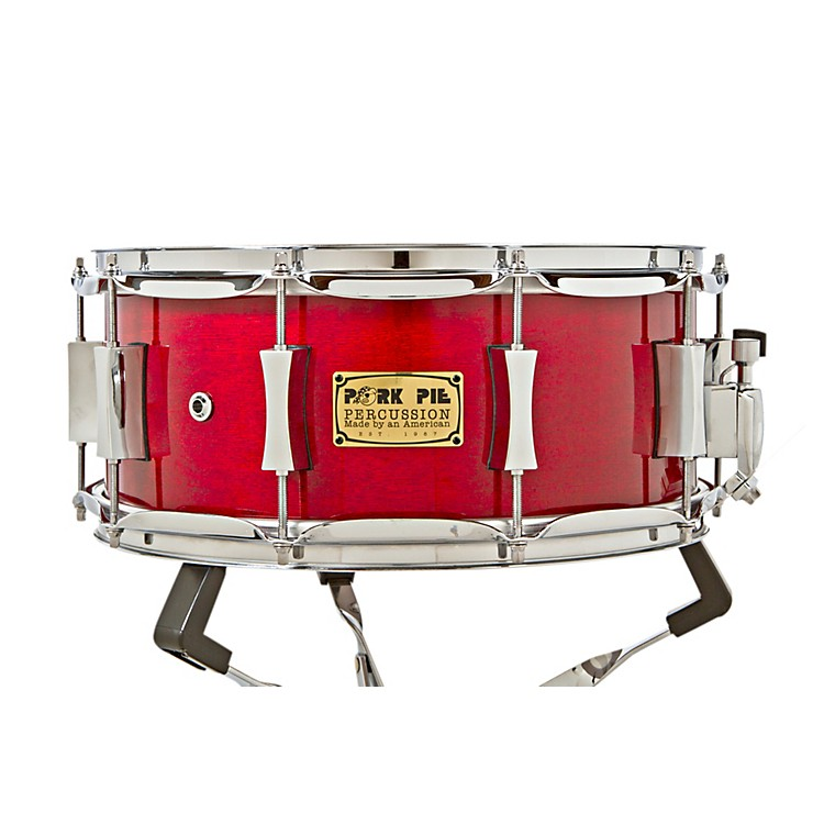 Pork Pie Maple/Rosewood Snare Drum Black Cherry