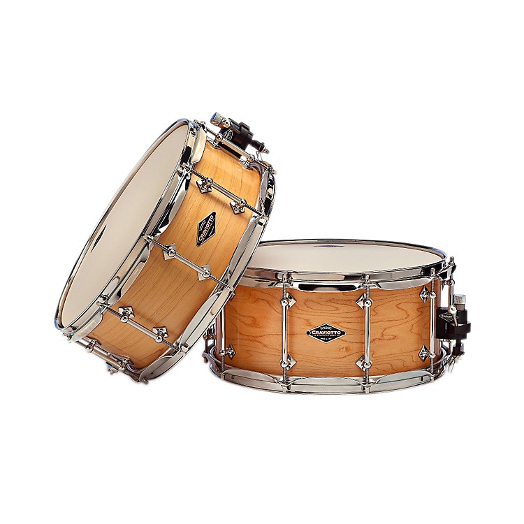Craviotto Maple Snare Drum with Natural Satin Oil Finish Maple 14x5.5 Inch