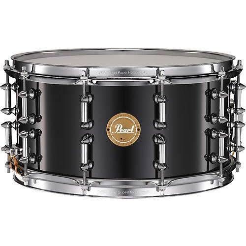 Pearl Maple Snare with Spike Tube Lugs-thumbnail