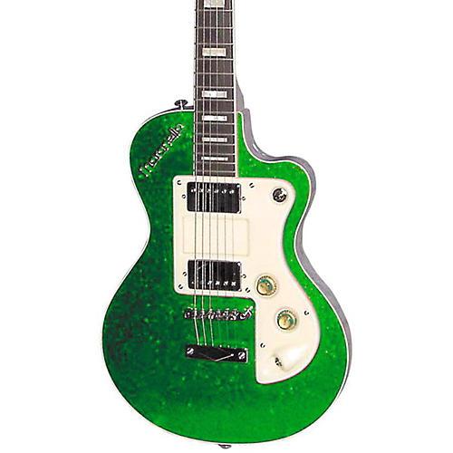 italia maranello classic electric guitar green sparkle musician 39 s friend. Black Bedroom Furniture Sets. Home Design Ideas