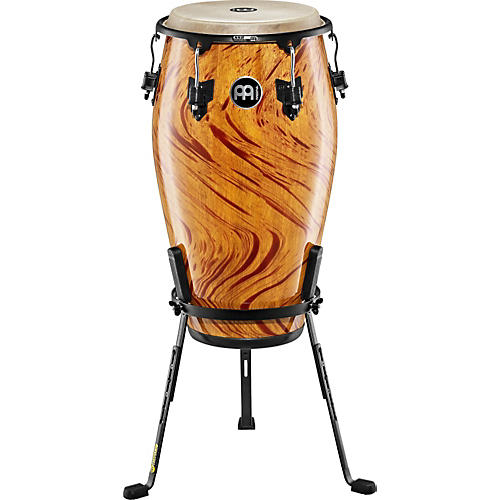 Meinl Marathon Designer Series Tumba Conga Drum AMBER FLAME 12 1/2 inch