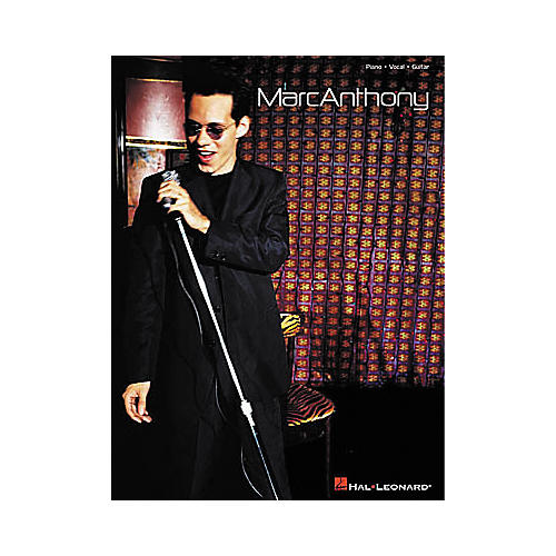 Hal Leonard Marc Anthony Piano, Vocal, Guitar Songbook-thumbnail