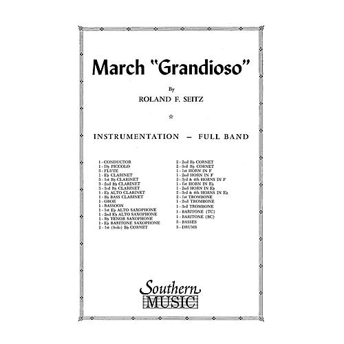 Southern March Grandioso (Marching Band/Marching Band Music) Marching Band Level 3 Composed by Roland F. Seitz-thumbnail