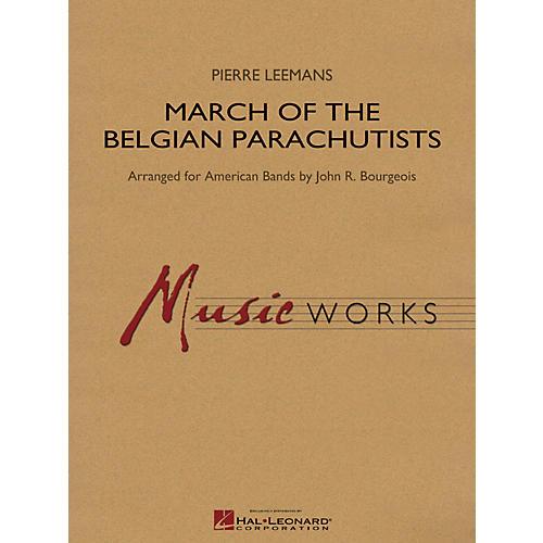 Hal Leonard March Of The Belgian Parachutists - Music Works Series Grade 4-thumbnail