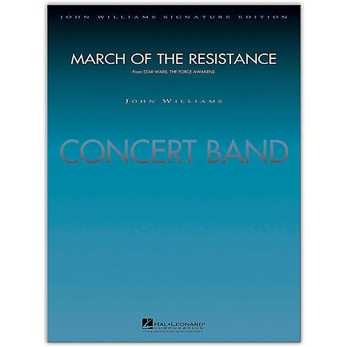 Hal Leonard March Of The Resistance Concert Band Level 5 by Paul Lavender-thumbnail
