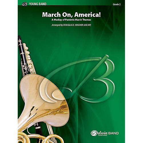 Alfred March On, America! Concert Band Grade 2 Set-thumbnail