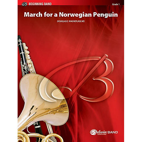 Alfred March for a Norwegian Penguin Concert Band Grade 1 Set