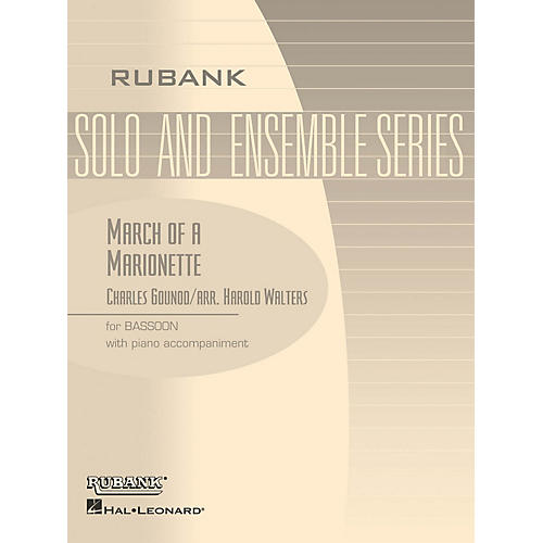 Rubank Publications March of a Marionette (Bassoon Solo with Piano - Grade 2.5) Rubank Solo/Ensemble Sheet Series-thumbnail
