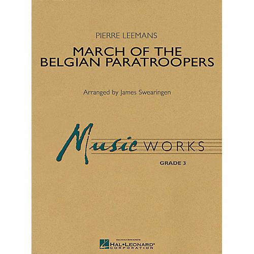 Hal Leonard March of the Belgian Paratroopers Concert Band Level 3 Arranged by James Swearingen