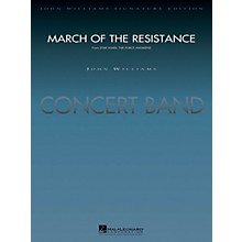 Hal Leonard March of the Resistance (from Star Wars: The Force Awakens) Concert Band Level 5 by Paul Lavender