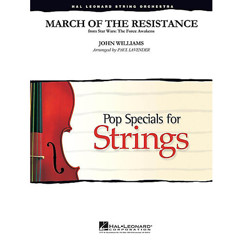 Hal Leonard March of the Resistance from Star Wars: The Force Awakens Pop Specials for Strings Level 3-4-thumbnail