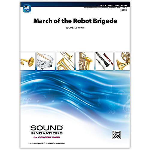 Alfred March of the Robot Brigade Conductor Score 1 (Very Easy)-thumbnail
