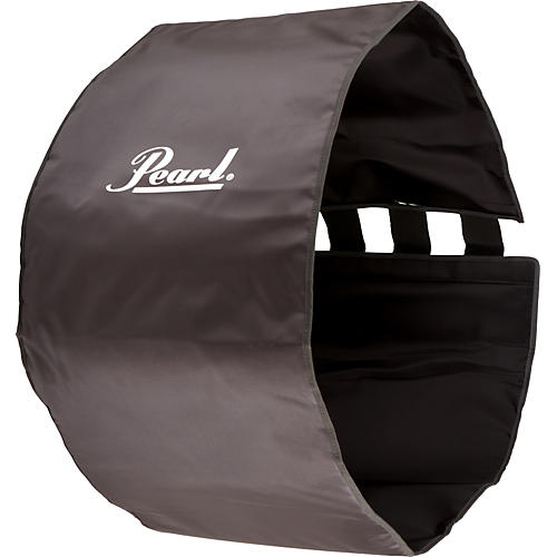 Pearl Marching BD Rehearsal Cover Gray 18 in.