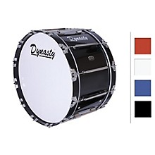 """Dynasty Marching Bass Drum 26"""" White 26x14"""""""